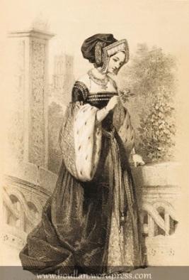 Ana Bolena, por Jules David.