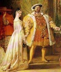 Ana e Henrique VIII.