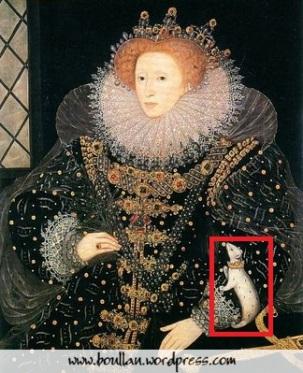 """The Ermine Portrait"", por Nicholas Hilliard, cerca de 1585."