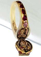 Anel da rainha Elizabeth I