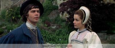 Terence Wilton como Henry Percy e Geneviève Bujold como Ana Bolena.