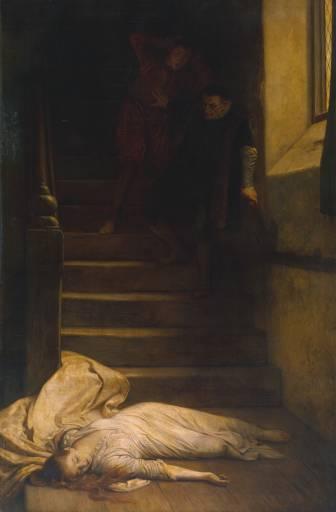 Amy Robstar, por William Frederick Yeames no século 19.