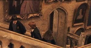 Ana Bolena na parede de Hogwarts.