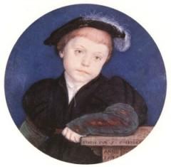 Henrique Brandon, 2 º Duque de Suffolk, uma das vítimas de 1551. Morreu com 16 anos.