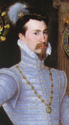 Robert Dudley em 1564, por artista desconhecido.