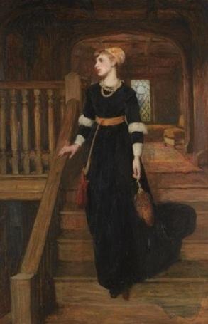 Amy Robstar, por Sir William Quiller Orchardson.