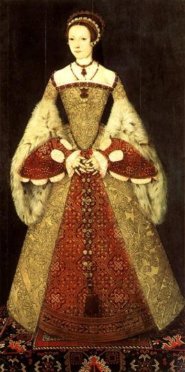 Catarina Parr, por Master John por volta de 1545.