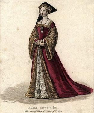 Retrato póstumo de Jane Seymour,  por artista desconhecido.