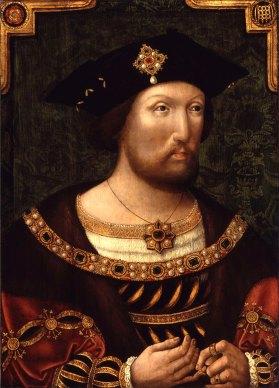 Henrique VIII, em 1520. Artista desconhecido.