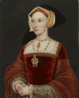Jane Seymour por Henry Bone, em 1816.