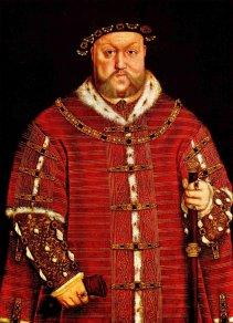 Henrique VIII por Hans Holbein, o Jovem, em 1542.