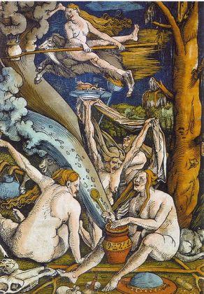 Bruxas, por Hans Baldung Grien, 1508