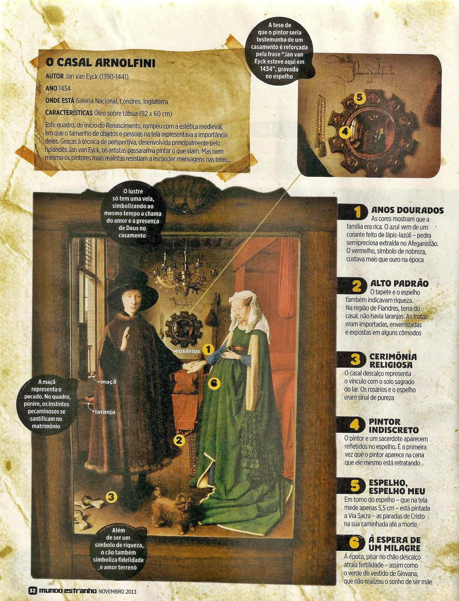 mat ria da revista mundo estranho cita o casal arnolfini boullan tudo sobre ana bolena e a. Black Bedroom Furniture Sets. Home Design Ideas