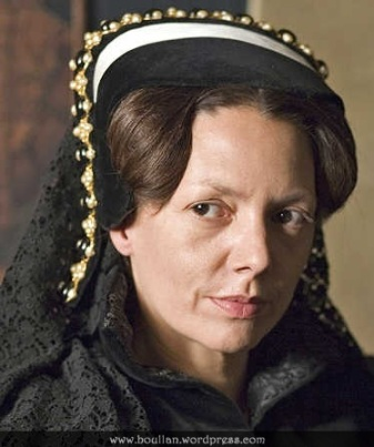 Joanne Whalley como Maria Tudor, na série The Virgin Queen em 2005.