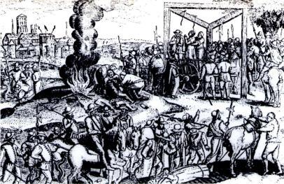 Execução de Hereges no reinado de Maria I