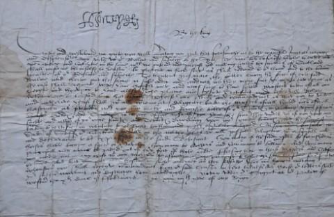 Carta de Henrique VIII