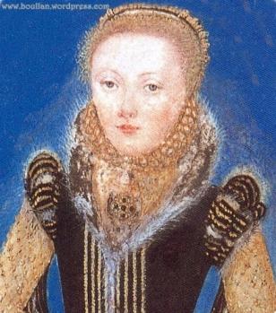Miniatura de Elizabeth I, atribuído a Levina Teerlinc, cerca de 1560-1565.
