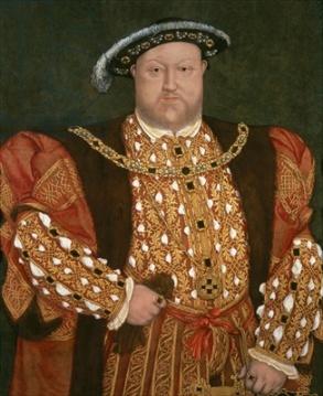 Henrique VIII em 1540, por artista desconhecido.