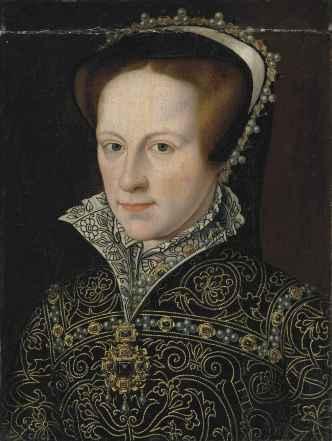 Maria I, por artista desconhecido no seculo 16.