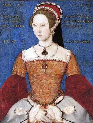 Maria I, por Master John, cerca de 1544-1545.