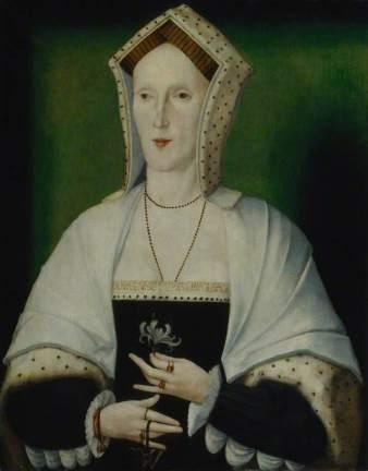Mulher desconhecida, provavelmente Margaret Pole. Artista desconhecido, c. 1535.