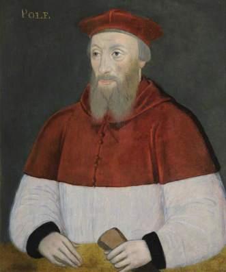 Reginald Pole, por artista desconhecido, c. 1585–1596.