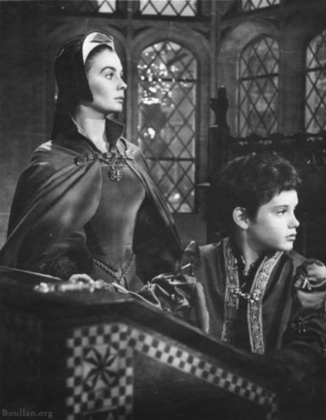Jean Simmons e Rex Thompson