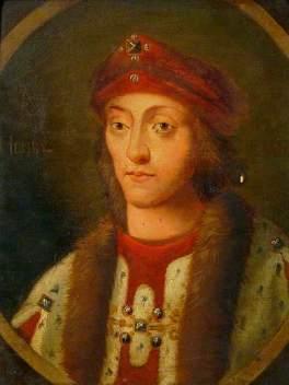 Henrique VII, por artista desconhecido.