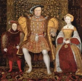 Henrique VIII, Eduardo VI e Jane Seymour