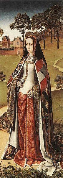 Joana, A Louca, em Flanders, no século 15.