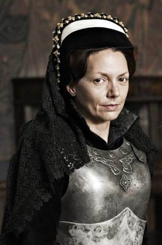 Joanne Whalley como Maria I, na série 'Elizabeth: The Virgin Queen', de 2005.