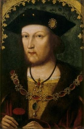 Henrique VIII, por artista desconhecido, cerca de 1519-1520