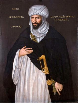 Abd el-Ouahed ben Messaoud  por artista desconhecido em 1600.