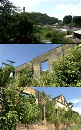 Terreno abandonado cedido pela Vale do Rio Doce