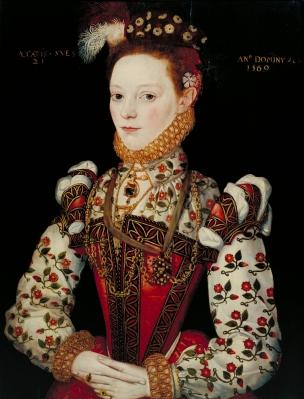 Uma jovem senhora de 21 anos, possivelmente Helena Snakenborg, depois Marquesa de Northampton