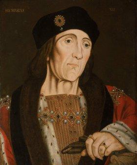 Retrato de Henrique VII, por artista desconhecido em 1505.