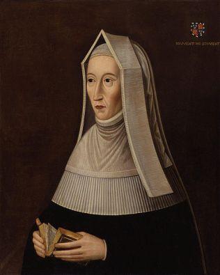 Margaret Beaufort, por artista desconhecido, na segunda metade do século 16.