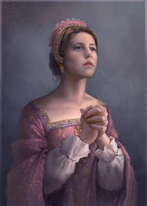Catarina Parr por  Kristina Gehrmann