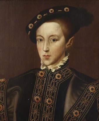 Eduardo VI com treze anos, por Guillim Scrots