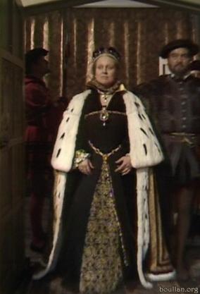 Coroação de Maria I, na série Elizabeth R