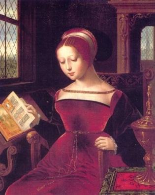 Lady Jane Grey, por Lucas de Heere, 1555-60.