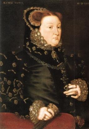 Quadro de Maria Neville, antes identificado como Frances Grey, 1559.