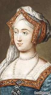 Miniatura de Jane Seymour do século 18, por artista desconhecido.