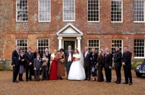 Casamento em Westenhanger Manor