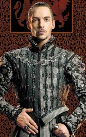 Jonathan Rhys Meyers como Henrique VIII na Terceira Temporada