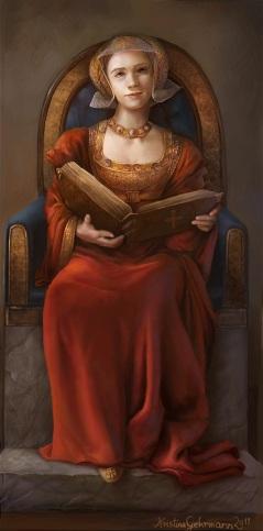 Ana de Cleves, por Kristina Gehrmann