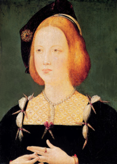 Maria Tudor, Rainha da França. Artista desconhecido.
