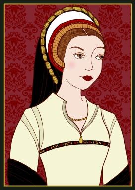 Catarina Howard, feito por Lisa Graves para o site 'History Witch'