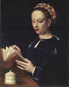 Cristina da Dinamarca, por artista desconhecido em 1533