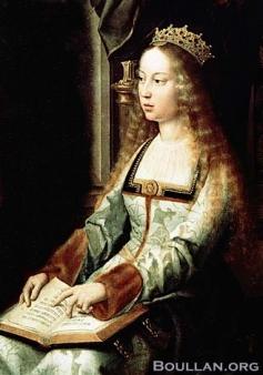 Possível imagem de Isabela a Católica. Atribuído a Gerard David, c. 1520.